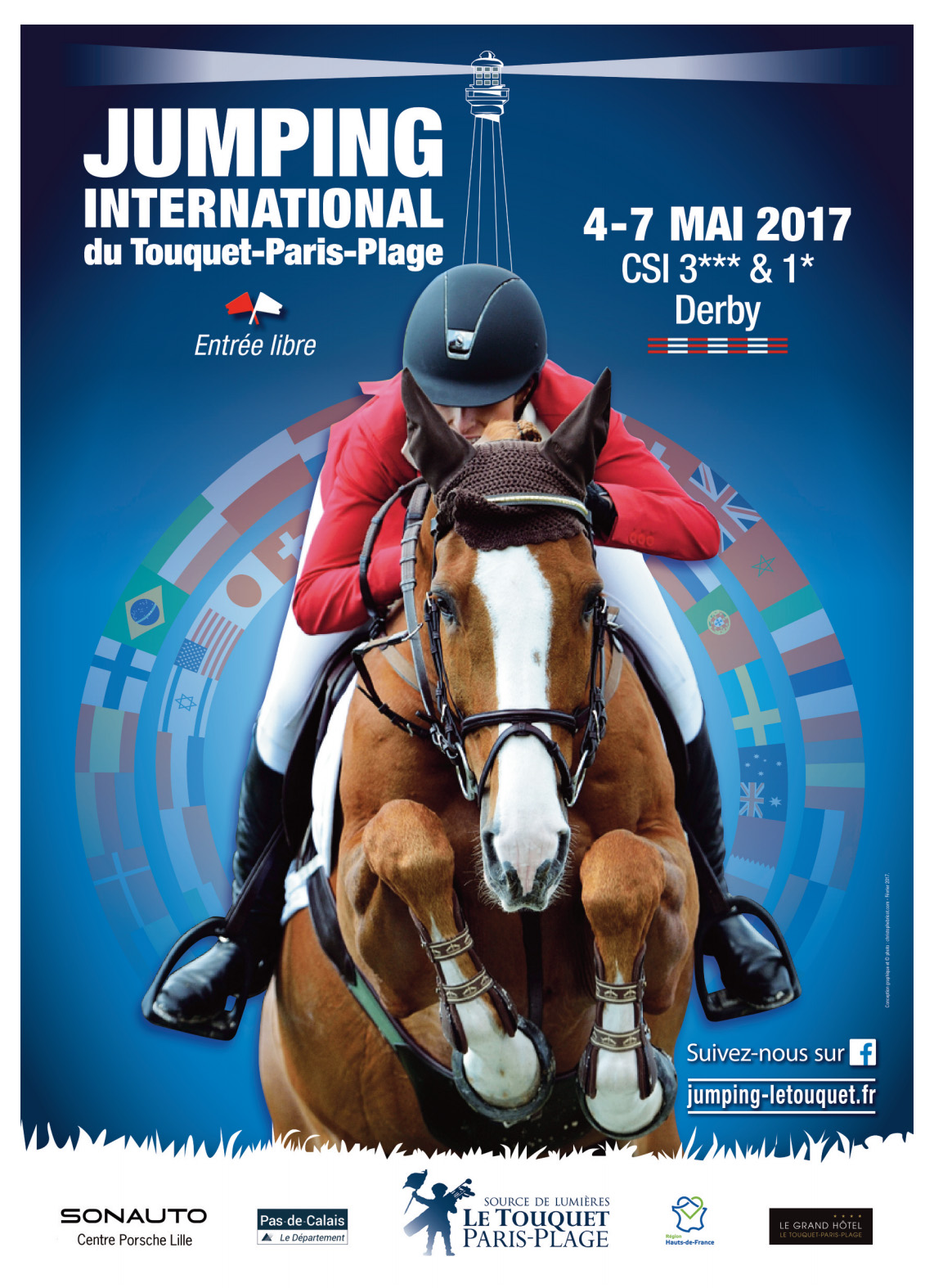 Jumping International de sauts d'obstacles 3*