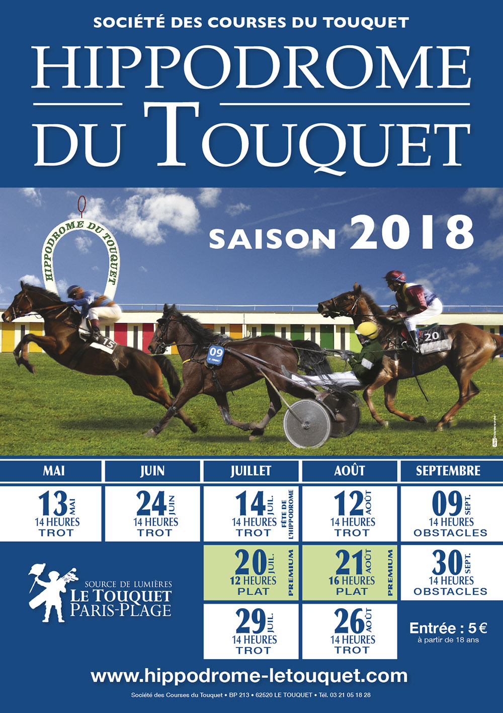 Hippodrome Le Touquet 2018