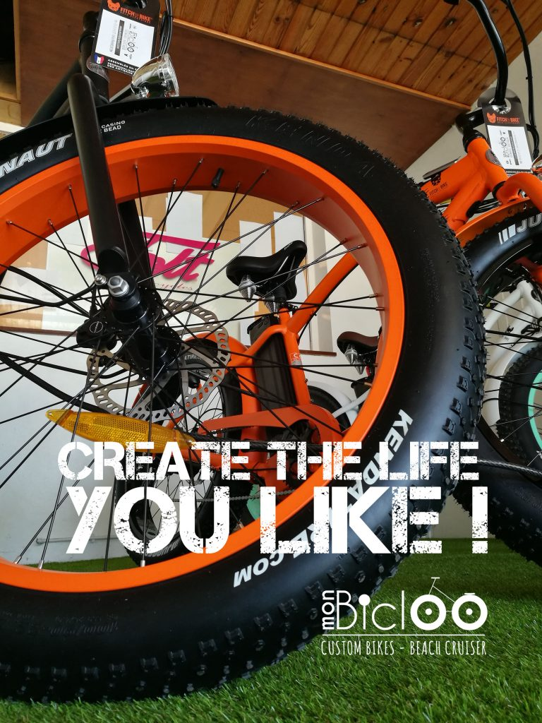 Vélo électrique expo à l'aéroport
