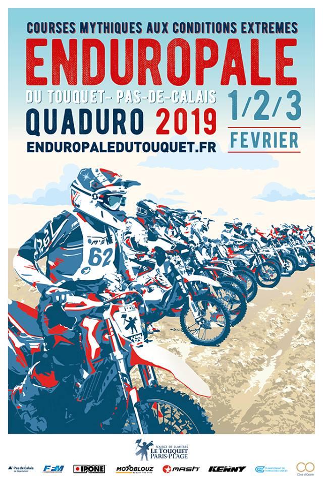 Enduropale 01/02/03 février 2019